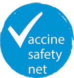 Vaccine safety net logo
